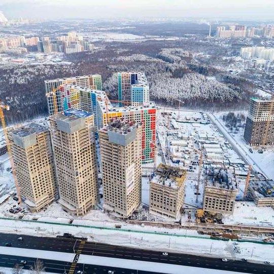 ЖК Эталон-Сити ход строительства